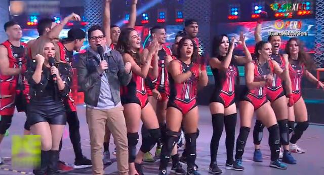 El equipo peruano se lució en su presentación.