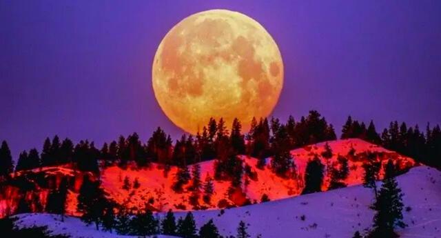 Luna de Maíz se remonta a  las antiguas tradiciones amerindias.