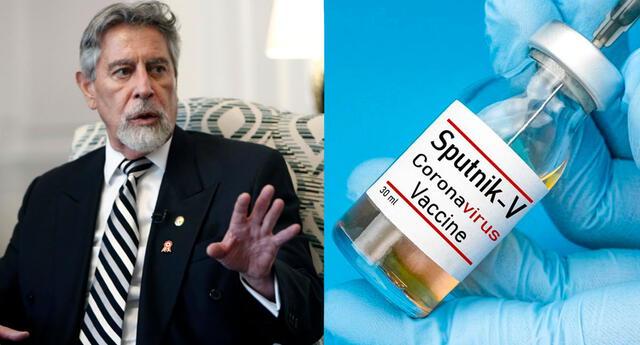 Más detalles sobre el acuerdo del gobierno de Sagasti sobre la compra de vacunas Sputnik V.