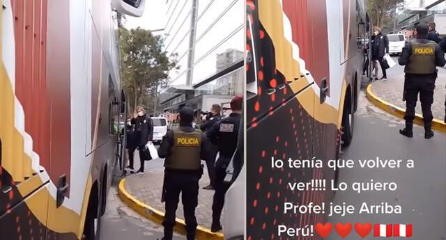 Peculiar video del hincha de la selección peruana se hizo viral en las redes sociales.