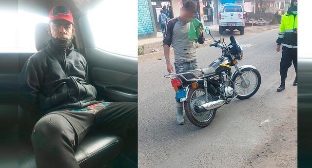 Detenido tras robar moto de su compatriota.