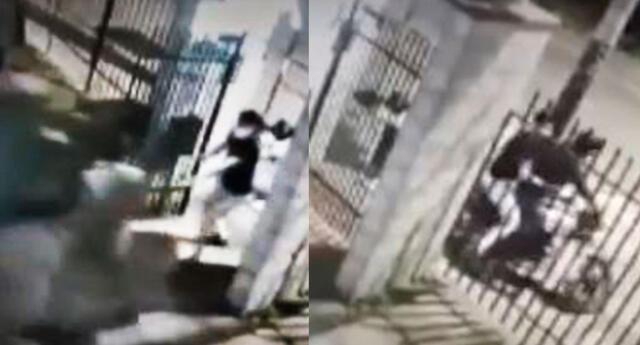 Delincuentes extranjeros encañonan y asaltan a un hombre
