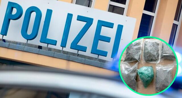 Los policías notaron un fuerte olor en el inmueble, y luego encontraron una gran cantidad de marihuana, y otros estupefacientes.