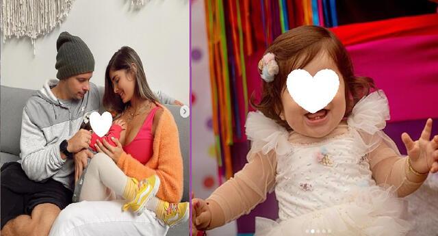Korina Rivadeneira celebró por todo lo alto cumpleaños de su bebé.