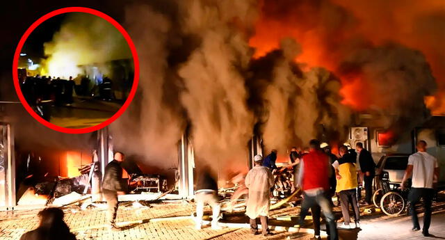 El incendio fue notificado este miércoles a las 19H00 GMT en la ciudad occidental de Tetovo.