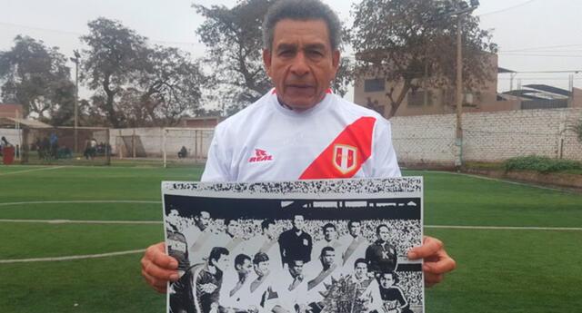 Héctor Chumpitaz sobre la última victoria de Perú en Brasil. Foto: Difusión/Referencial