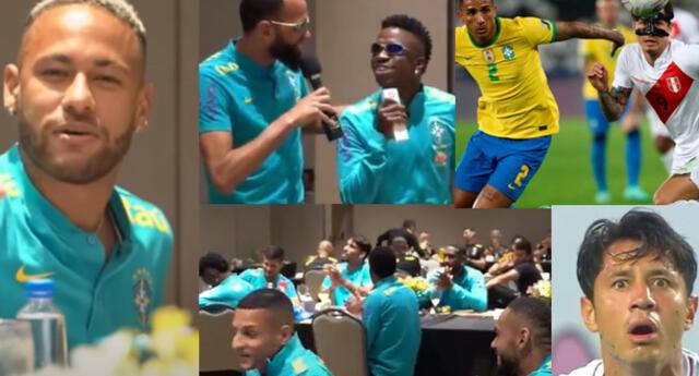 Concentración de Brasil fue puro festejo y canticos.