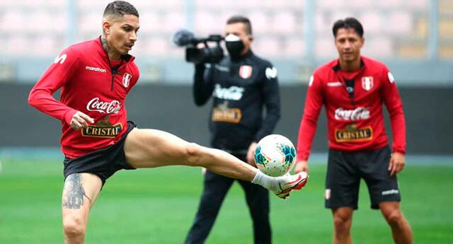 Paolo Guerrero no puede jugar contra Brasil y decidió reintegrarse a los entrenamientos con el Inter.