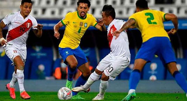 Perú se enfrenta a Brasil esta noche y está obligado a ganar.
