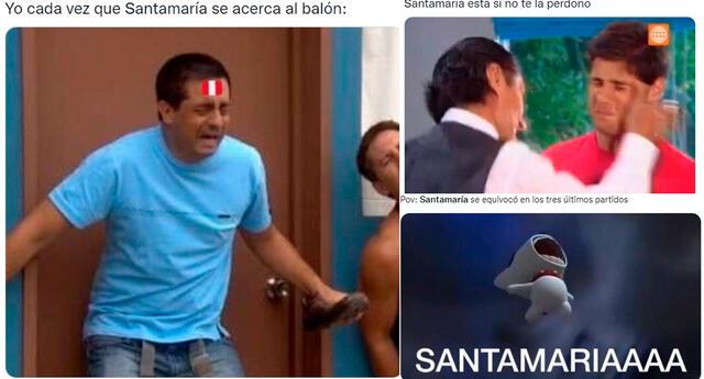Los memes sobre Santamaría inundaron las redes sociales.