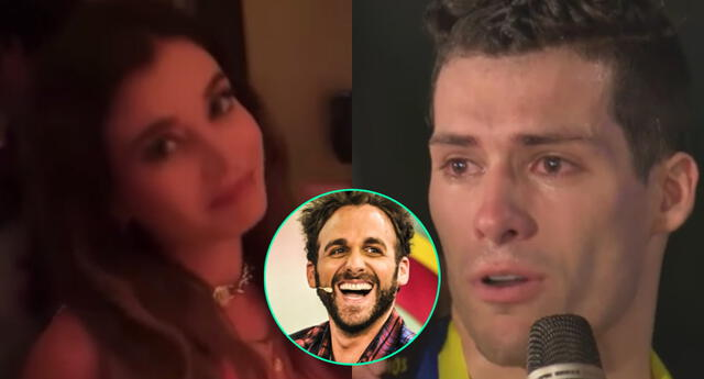 Flavia Laos se lució en una discoteca de Miami y dijo buscar novio, por lo que Peluchín no pudo dejar de burlarse de su ex Patricio Parodi.