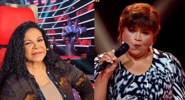 Eva Ayllón crítica a participante de La Voz Senior.
