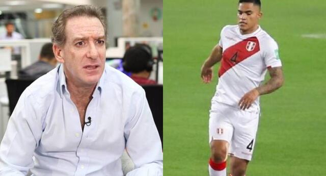 El periodista deportivo no toleró los errores que tuve el defensa de la escuadra nacional ante Brasil.