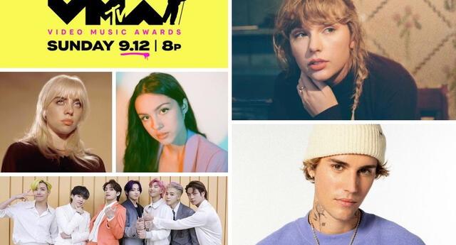 Los premios MTV Video Music Awards 2021 se realizarán este 12 de septiembre y te contamos todo lo que debes saber para seguir la transmisión.