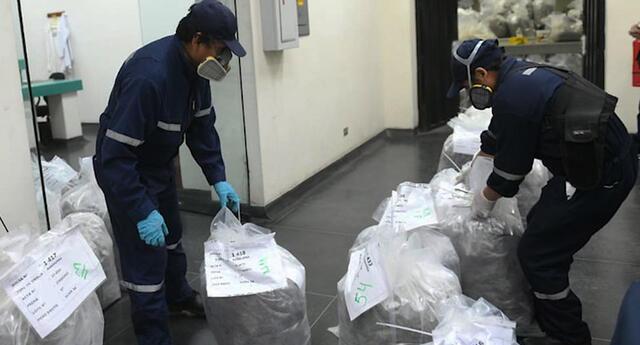 Mininter inicia el primer proceso de destrucción de drogas del gobierno del presidente Castillo