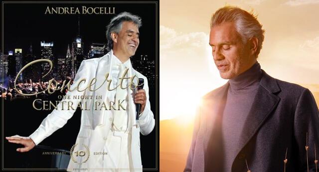 Se cumplen 10 años del histórico concierto One Night In Central Park de Andrea Bocelli, y ahora sus fanáticos podrán verlo sin pagar. Te contamos cómo.