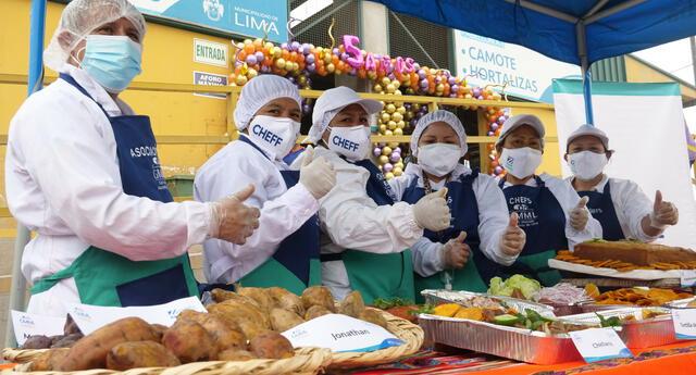 Municipalidad de Lima organiza festival del camote en el Gran Mercado Mayorista