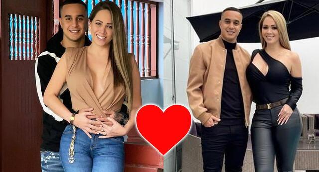La historia de amor entre Melissa Klug y Jesús Barco.