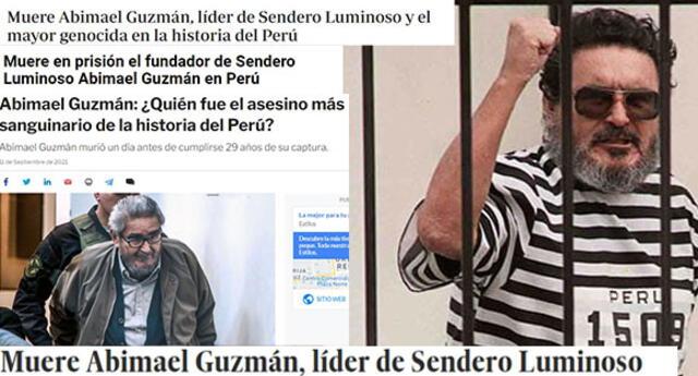 Estas fueron las reacciones de los medios internacionales tras muerte de Abimael Guzmán.