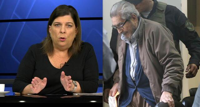Rosa María Palacios se pronuncio sobre la muerte de Abimael Guzmán, hoy 11 de septiembre.