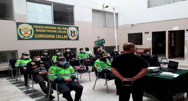 Los PNP del Callao han sido capacitados y estarán interconectados con todas las sedes policiales