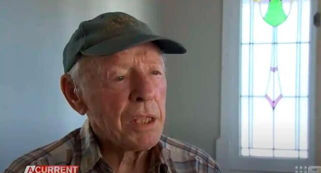 Gordon Layton es un bisabuelo de 88 años de edad.