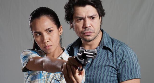 Pietro Sibille y Nidia Bermejo dan vida a policías Grupo Especial de Inteligencia del Perú.