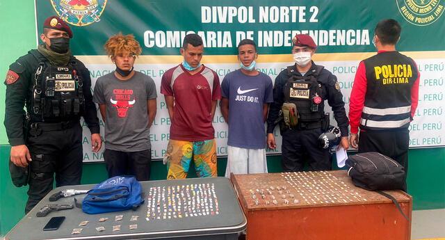 Policía detuvo a integrantes de la banda Los Malditos de Aragua.