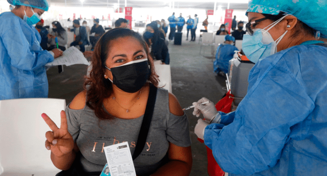 Minsa viene aplicando más dosis contra la COVID-19 en la octava jornada del vacunatón