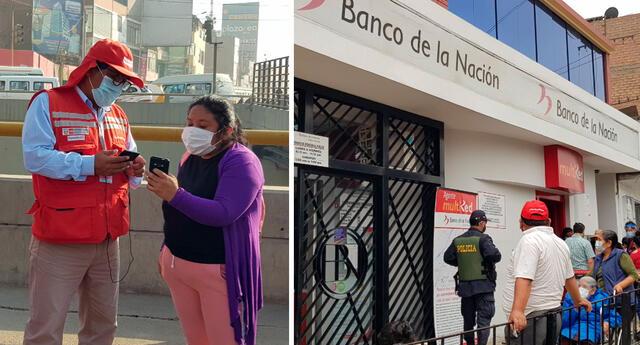 Beneficiario del Bono Yanapay de 350