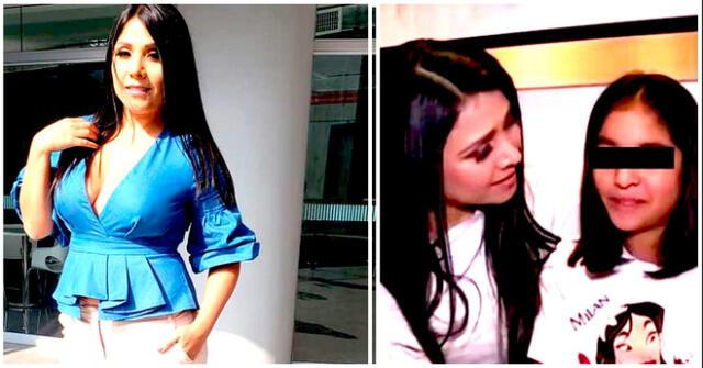 Tula Rodriguez se muestra su preocupación por operación de riesgo a su hija, Valentina.