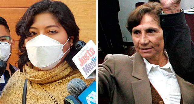 Betty Chávez pidió información sobre las supuestas llamadas de Elena Iparraguirre a 'altos funcionarios' del Gobierno.