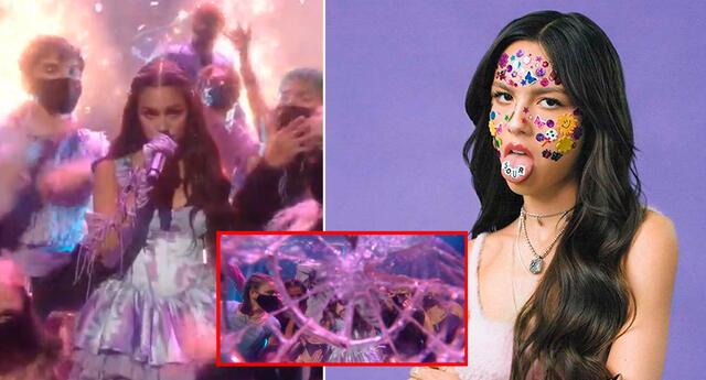 Olivia Rodrigo tuvo una inesperada acción en los MTV.