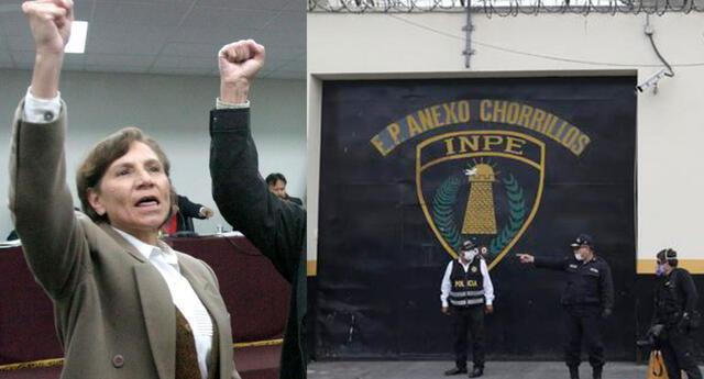 Elena Iparraguirre fue enviada al penal de Chorrillos