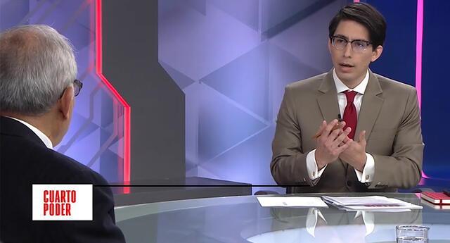 Aníbal Torres fue entrevistado hoy por Sebastián Salazar.