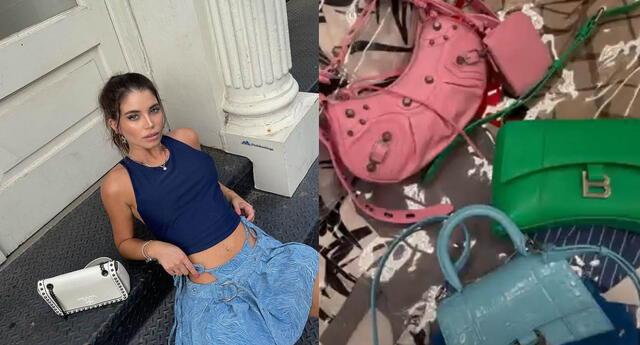 Flavia Laos sorprende al 'arrasar' con costosas compras en tiendas Prada y Balenciaga.