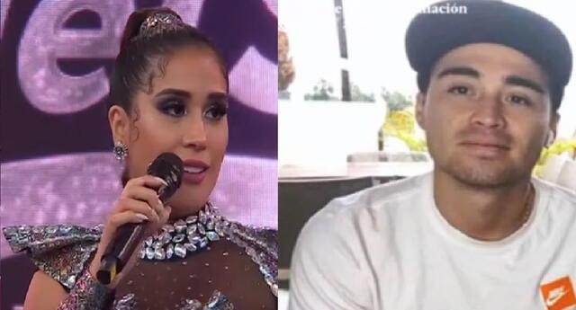 Melissa Paredes aseguró que fue su esposo el que le dijo que había subido de peso.