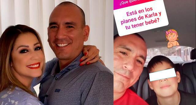 Hijo de Karla Tarazona quiere hermanita.