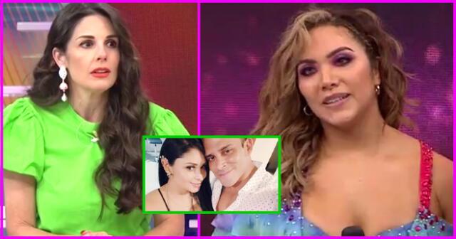 Rebeca Escribens arremete con todo contra Isabel Acevedo y le recomienda que se dedique a bailar.
