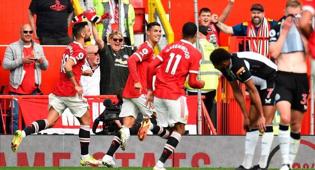 Cristiano Ronaldo regresó con goles y cambió hábitos de alimentación en el  Manchester United.