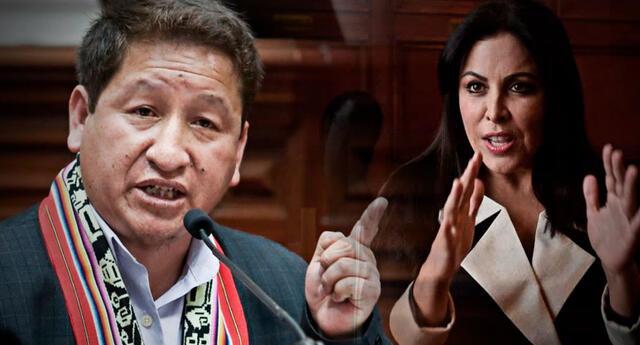 Se confirma que Guido Bellido le envió carta notarial a la congresista Patricia Chirinos.