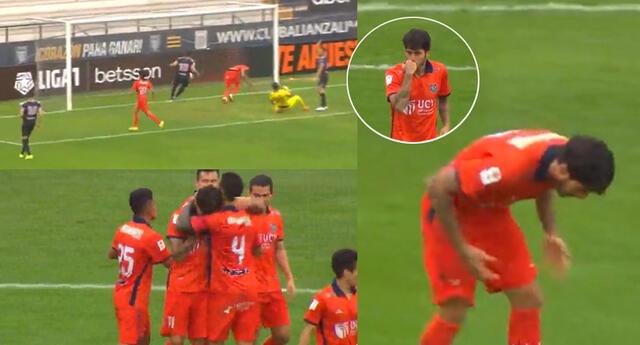 Beto da Silva puso el 1-0 parcial para César Vallejo sobre Sport Boys por la Liga 1 2021.