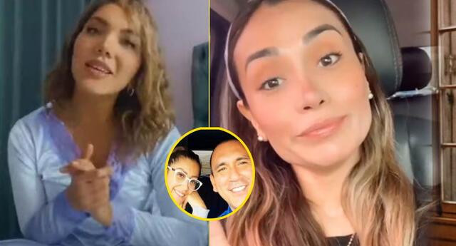 Isabel Acevedo promociona pijamas de expareja de esposo de Karla Tarazona.