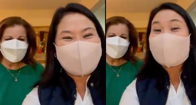 Keiko Fujimori y Lourdes Flores generaron todo tipo de comentarios en las redes sociales.