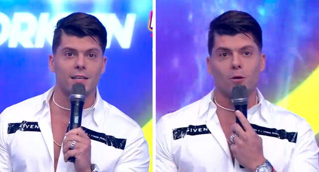 Ignacio Baladán se mostró emocionado por regreso