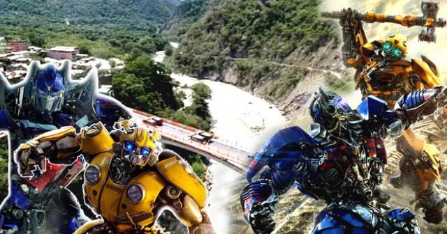 "Rodaje del filme ""Transformers"" en Cusco llegó a su fin."