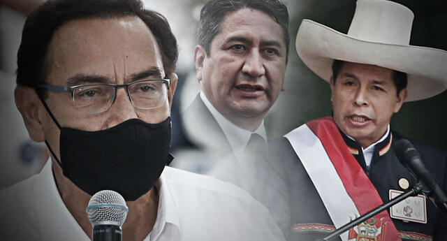 Martín Vizcarra criticó al Gobierno de Pedro Castillo y aseguró que Vladimir Cerrón tiene injerencia dentro de ella.