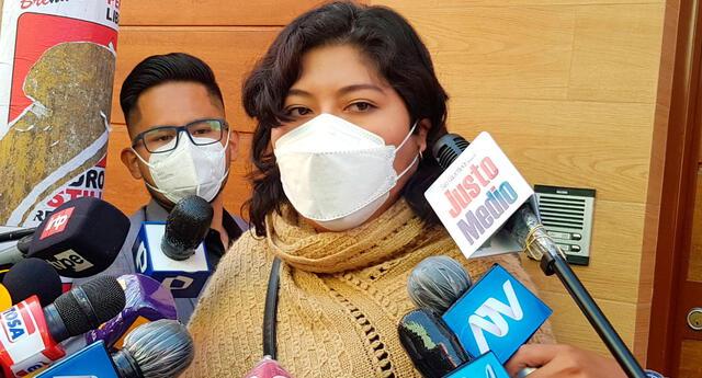 Betssy Chávez anuncia proyecto de ley para que condenados por terrorismo sean incinerados.