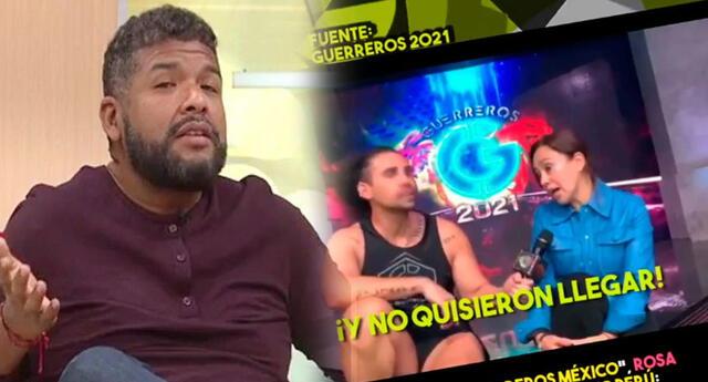 Choca Mandros cuadra a productora de Guerreros México.