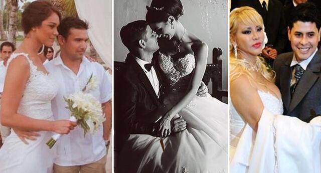 Los famosos que se casaron con una gran diferencia de edades.